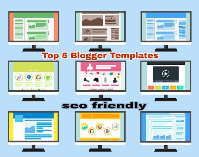 Top 5 Premium Blogger Templates Free