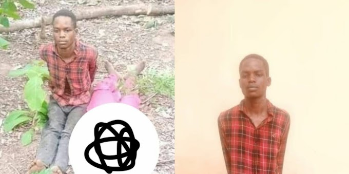 Man caught with newly cut off human head and hand in a sack in Kwara