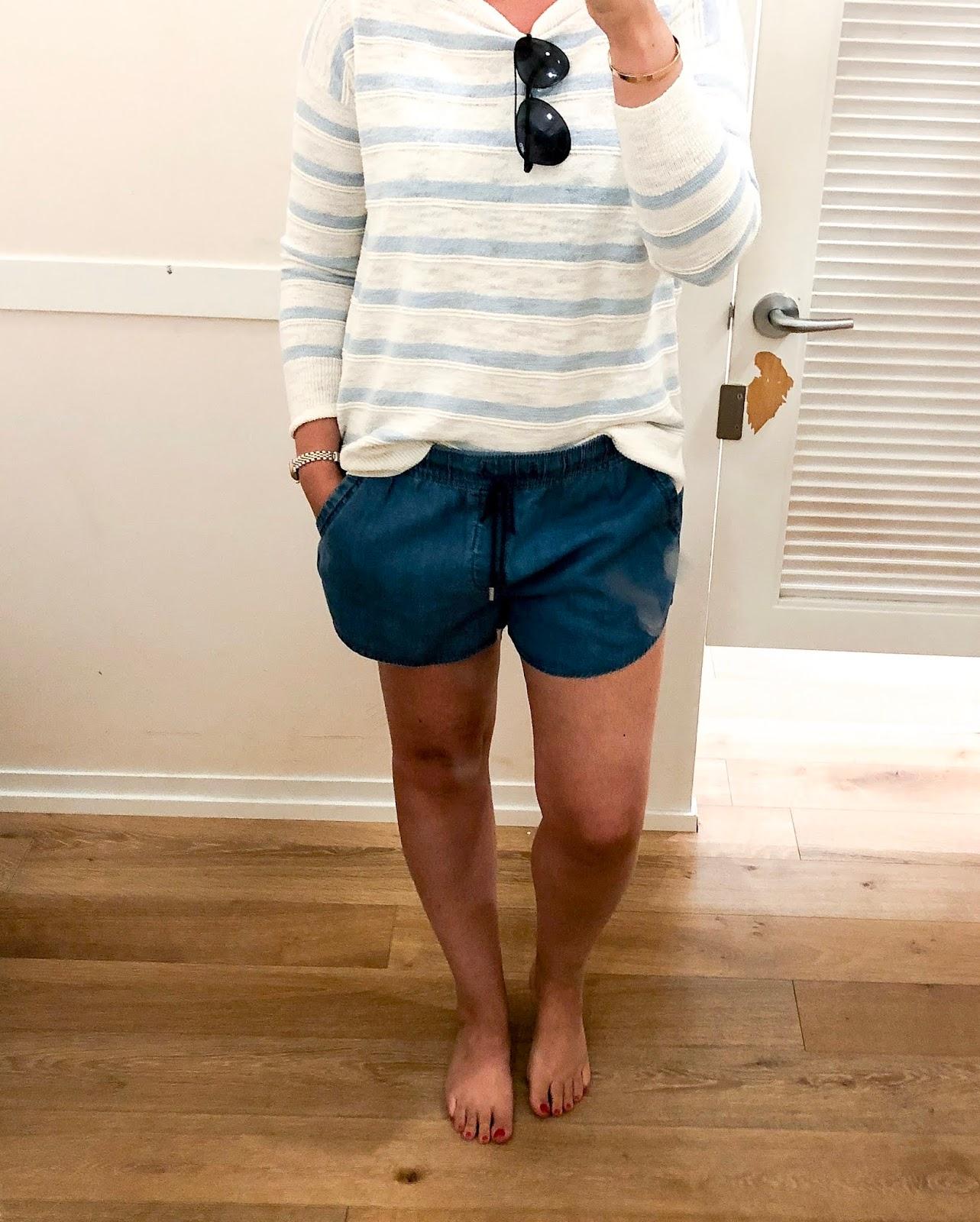 62b310b3f98 11 Perfect Pairs of Denim Shorts | Olive and Tate