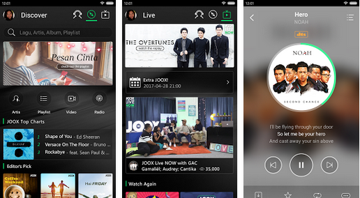 Download JOOX Premium Mod Unlimited VIP v4.0 Apk Terbaru Android