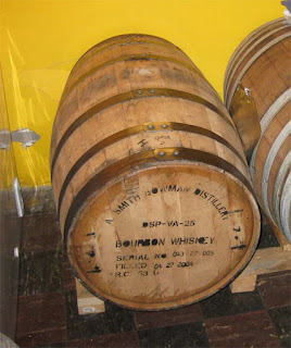 Our old bourbon barrel, the new one looks exactly the same.