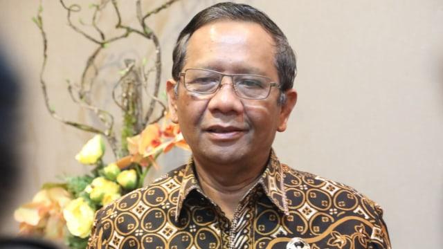 Mahfud MD: 92 Persen Calon Kepala Daerah Dibiayai Cukong