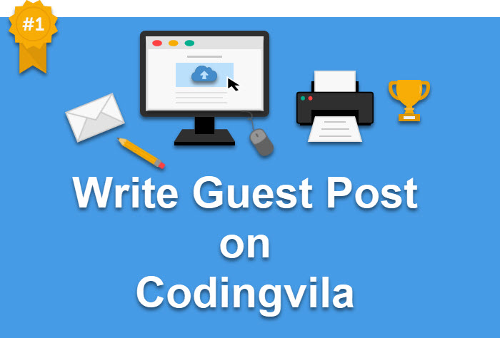 Write a Guest Post for Digital Marketing