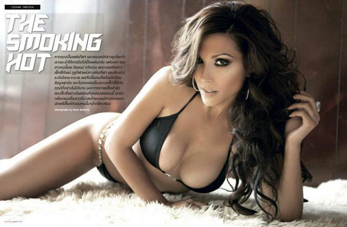 Leeann Tweeden poses for Maxim Thailand, January 2012