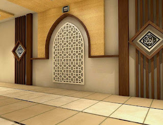 Mushola dalam Rumah Sederhana