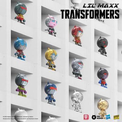 Transformers Lil' Maxx Blind Box Series by Mighty Jaxx