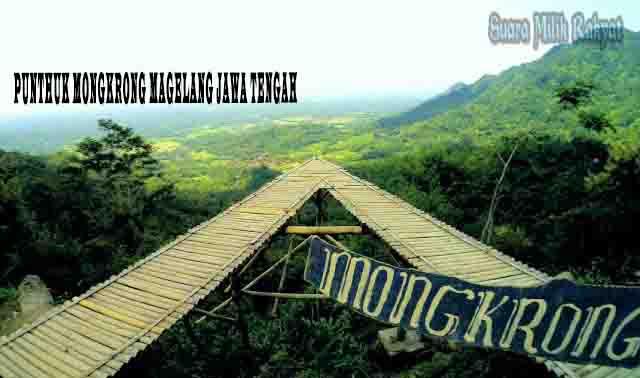 Punthuk Mongkrong Magelang Jawa Tengah