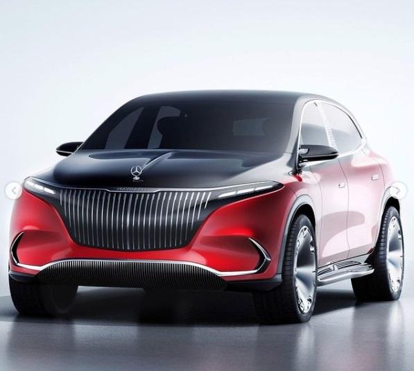 Mercedes Maybach EQS Konsep