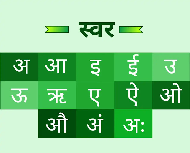 swar in hindi with picture