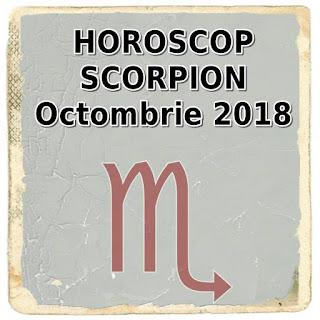 Horoscopul lunii viitoare Scorpion Octombrie 2018 dragoste si cariera