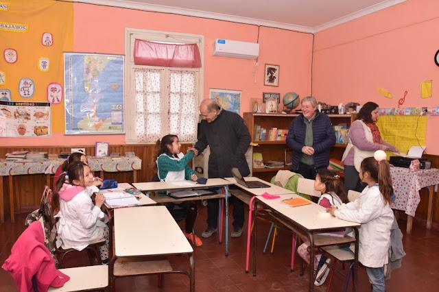 Importante aporte municipal a la Escuela Primaria Nº10 de Juan José Paso