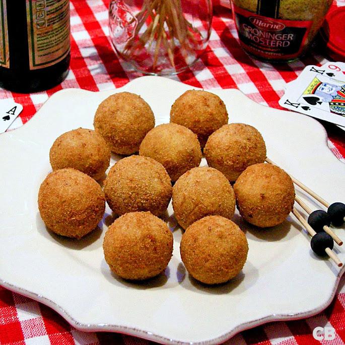 Luxe bitterballen met kip en madera