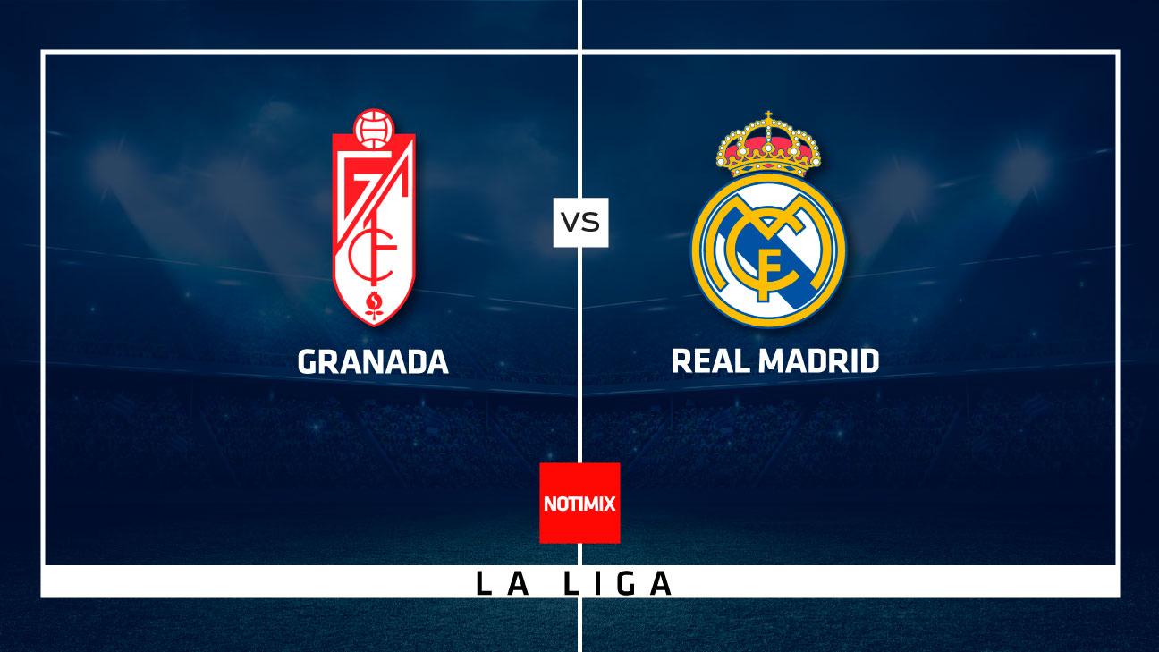 EN VIVO: Real Madrid buscará ante el Granada mantener su ventaja sobre el Barcelona en la Liga de España