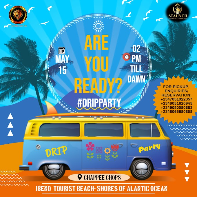 EVENT: Lion -sounds inc in- collaboration with staunch models empire present drip party 2021