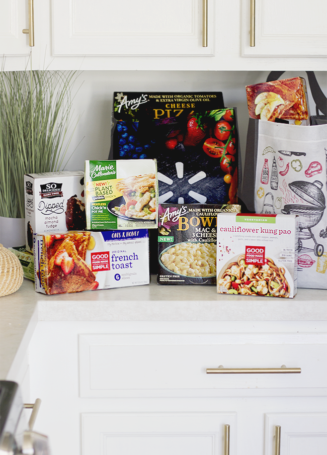 A Vegetarian, Plant-Based, Delicious Frozen Food Grocery Haul