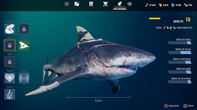 Maneater - tiburón adulto