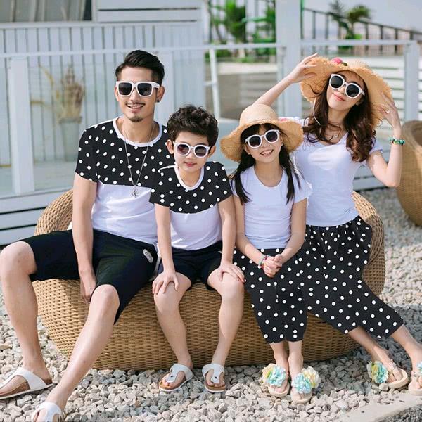 Áo đồng phục gia đình mẫu 10
