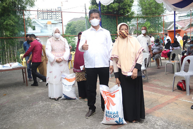 Pemo Batam Mulai Salurkan Bantuan Beras PPKM Darurat Kepada 37.109 KK
