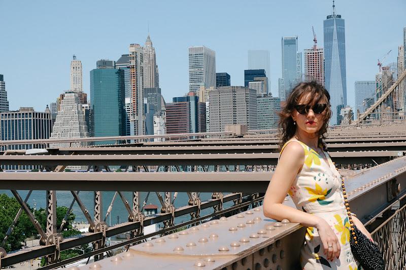 фотосессия на бруклинском мосту