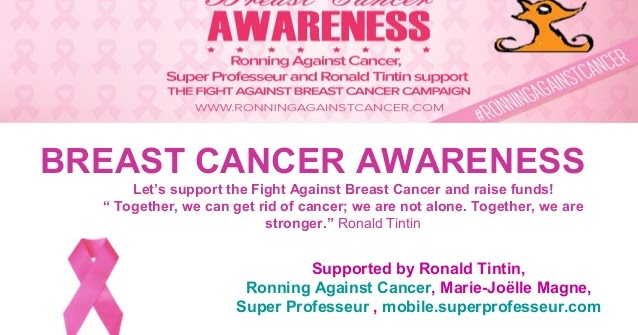 Ronning Against Cancer To Run Against Cancer To Support Cancer