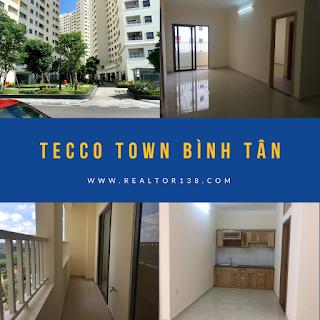 02 phòng ngủ căn hộ Tecco Town Bình Tân