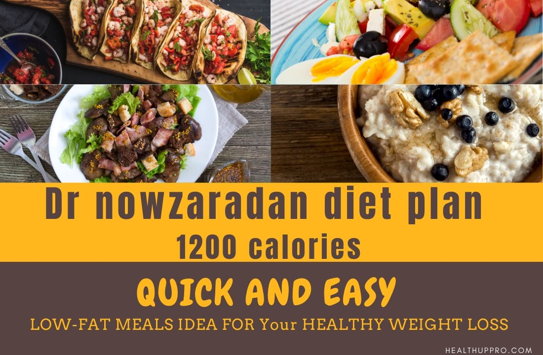 sample of dr now diet plan