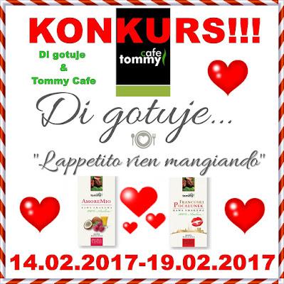 KONKURS - Di gotuje & Tommy Cafe - do wygrania zestaw 2 kaw!