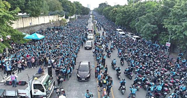 Save Angkas Unity Gathering