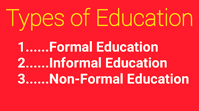 three types of education