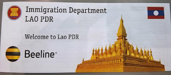 Immigration Form for Laos
