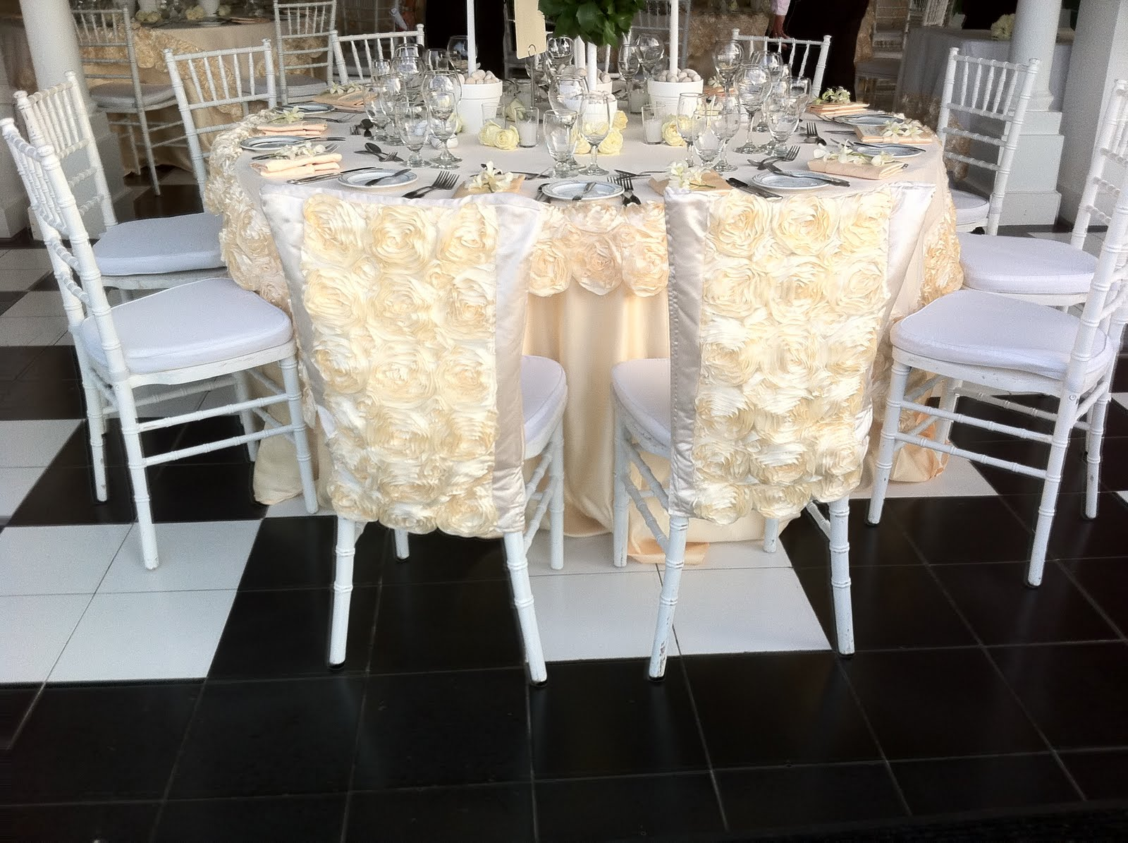 Elegant Chair Covers For Wedding Recliner Chairs Fabric Upholstery Occasions June 2011