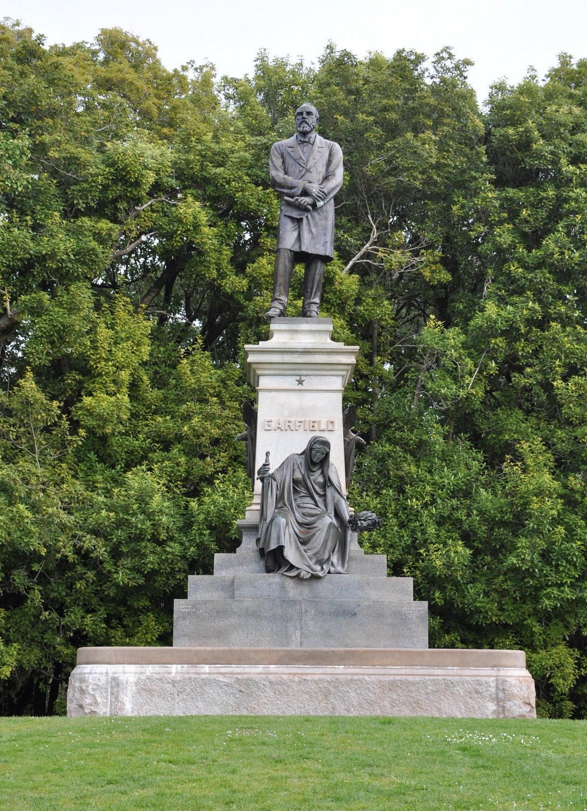Golden Gate Park - James Garfield - Public Art and ...