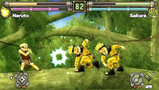 Game Naruto Ultimate Ninja Heroes 2 - The Phantom Fortress ISO