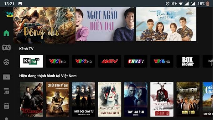 Viettel TV360 mod Android TV - Xem TV miễn phí Bóng Đá TV, trực tiếp K+