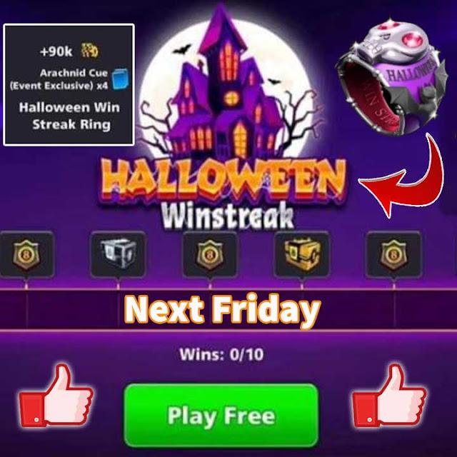 Halloween Win Streak 8 ball pool