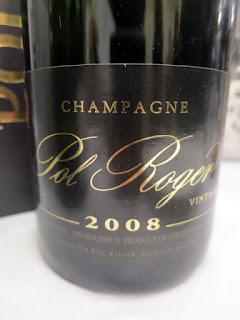 Pol Roger Vintage Brut Champagne 2008 (93 pts)
