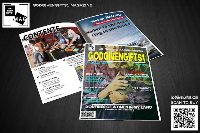 GodGivenGifts1 Magazine Issue 01