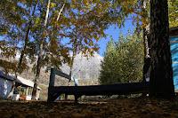 Kyrgyzstan, Arslanbob, Turbaza holiday centre, topchan, © L. Gigout, 2012