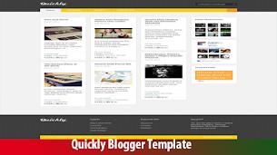 Quickly Presentation Premium Blogger Theme Original - Responsive Blogger Template
