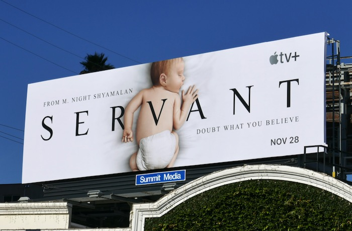 Servant Doubt what you believe real baby billboard