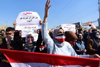 Bentrok Demonstran Irak dan Pendukung Syiah Telan Korban