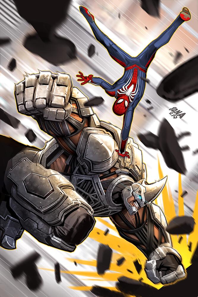 Spider-Man Ps4 Vs. Rhino