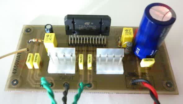 Bridge Car Amplifier with TDA7560