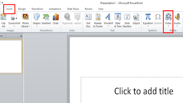 Menyisipkan Video di PowerPoint