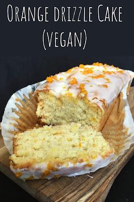 Orange Drizzle Cake (Vegan)