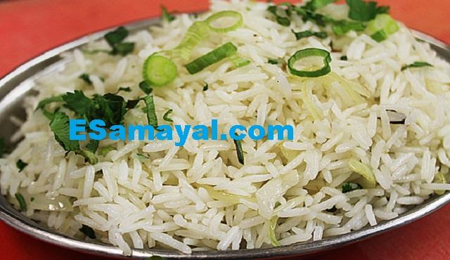வெங்காய  ஃப்ரைட் ரைஸ் ரெசிபி | Onion Fried Rice Recipe !