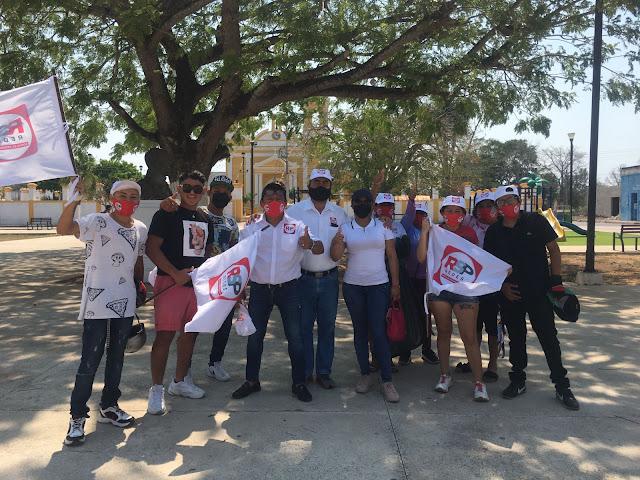 Con toda la fuerza progresista RSP en Samahil
