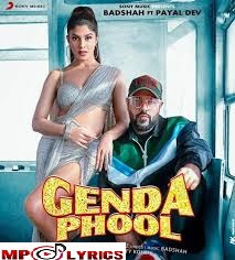 Genda Phool Lyrics –Badshah