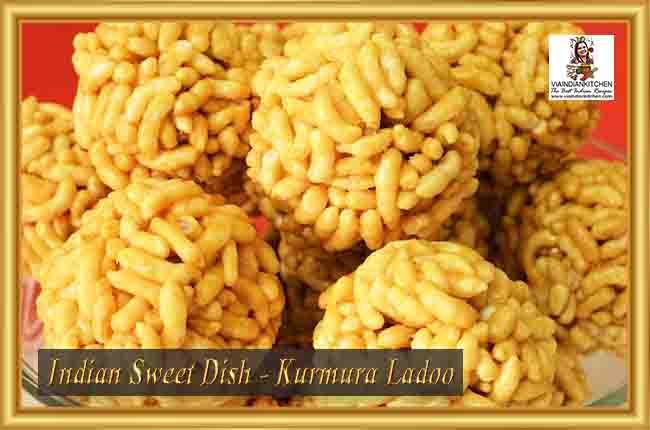 Indian Sweet Dishes - Kurmura Ladoo