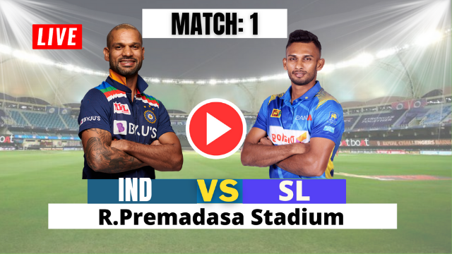 ind vs SL 1st one dy 2021